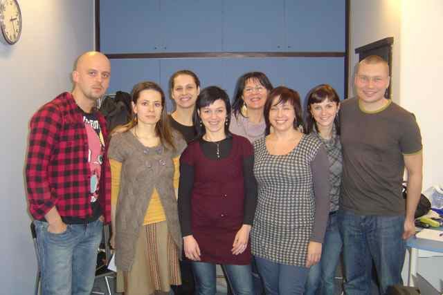 Dean Kaelin Vocal Workshop in Krakow, Poland, January 2011
